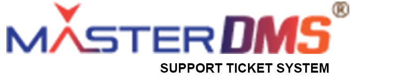 Support Ticket System MasterDMS